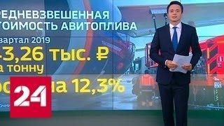 Взлетный тариф: цены на авиатопливо в 2019 году - Россия 24