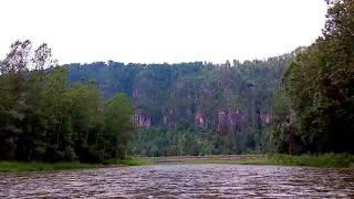 Очень красивые горы и река. Инзер. Башкирия. 17