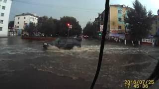 Город Сибай затопило за считанные минуты.