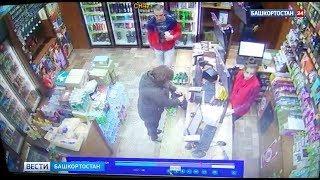 Кража электронной сигареты из магазина в Уфе попала на видео