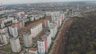 UTV. В Уфе появятся 2 новые улицы с тротуарами и велодорожками за 240 миллионов рублей.